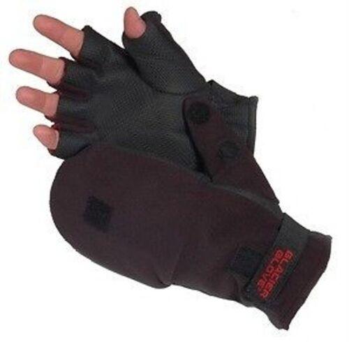 Alaska River Glacier Fleece Flip Mitt Windproof Back 2mm Neoprene Palm Gloves