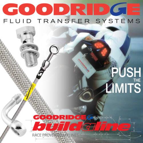 CB600FW-F4 HORNET 1999 Goodridge Build-A-Line Rear Brake Line