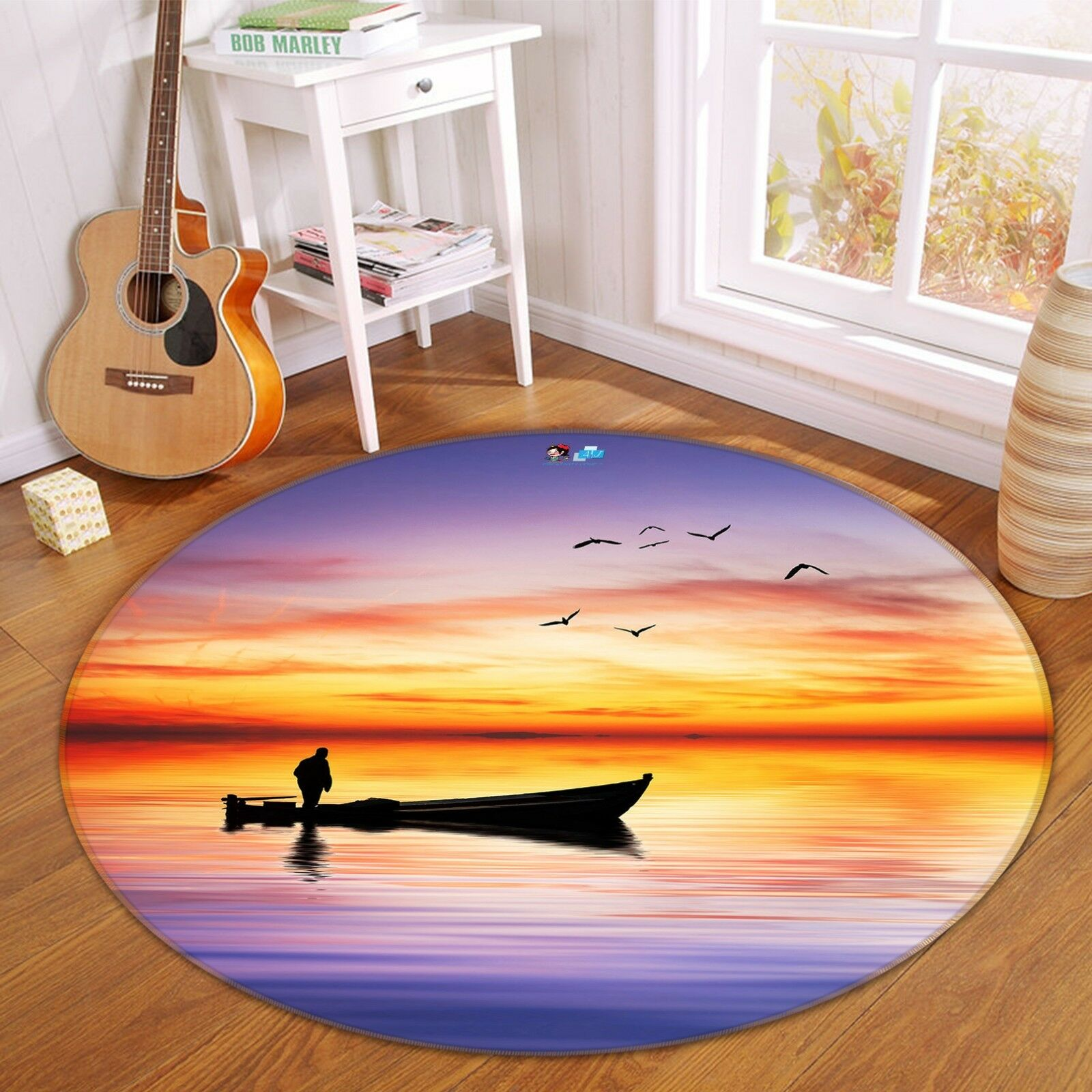 3d barco Mar 309 antideslizante alfombra de maletero rondas elegante alfombra de
