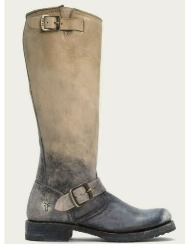 FRYE 66719 OMBRE VERONICA ENGINEER BOOTS Sz 8