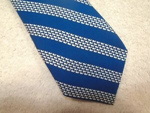 vineyard-vines-Blue-Whale-Rep-Stripe-Pattern-100-Silk-Tie-NWT-85-Made-in-USA