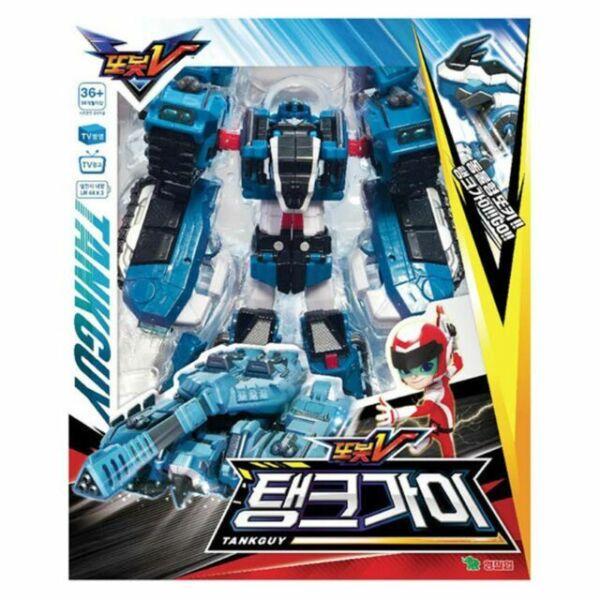 TOBOT Adventure Taekwon K Transforming Robot Voiture Toy Action Figure YT01042