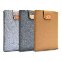 "New Soft Felt Ultrabook Laptop Sleeve Case  Bag for Macbook Air Pro 11"" 13"" 15"""