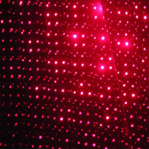 Interior del Coche Techo Proyector De Luces De Noche Estrella Luz LED luz de instrumentos rojo