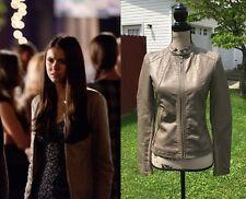 ASO Elena Gilbert Express (Minus the) Leather Jacket XS The Vampire Diaries