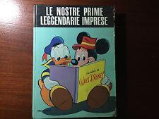 """CARTONATO DISNEY OMAGGIO ABBONATI """"LE NOSTRE PRIME LEGGENDARIE IMPRESE"""" 1966"""