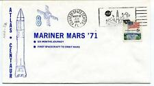 1971 Mariner 8 Mars Atlas Centaur First Spacecraft Orbit Kennedy NASA USA SAT
