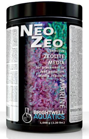 Brightwell Aquatics NeoZeo Selective Zeolite Media, 4.5 kg.   9.9 lbs.