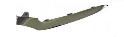 Modanatura sinistra paraurti anteriore per classe c w205 2013 amg cromata