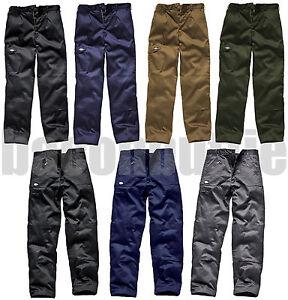 DICKIES-MENS-REDHAWK-ACTION-WORK-WEAR-CARGO-COMBAT-PANTS-KNEE-PAD-POCKETS
