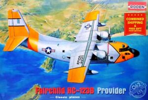 Roden-062-1-72-Fairchild-HC-123B-Provider-plastic-kit-American-airplane