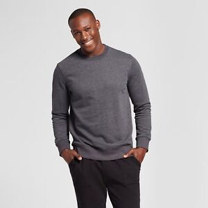 Goodfellow-amp-Co-Men-039-s-Crew-Neck-Sweater-Gray-Red-Gold-Olive-Navy