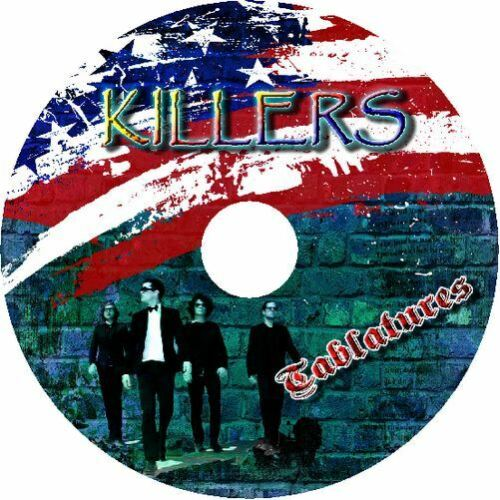 KILLERS BASS /& GUITAR TAB CD TABLATURE GREATEST HITS BEST OF ROCK MUSIC SONG
