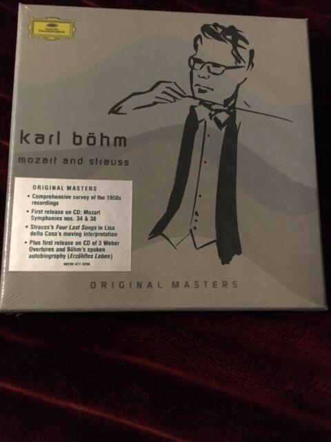 Karl Böhm - Mozart Und Strauss - Original Masters 8CD Box