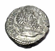 ANCIENT SEPTIMIUS SEVERUS ROMAN EMPEROR IMPERIAL SILVER COIN ROMAN EMPIRE