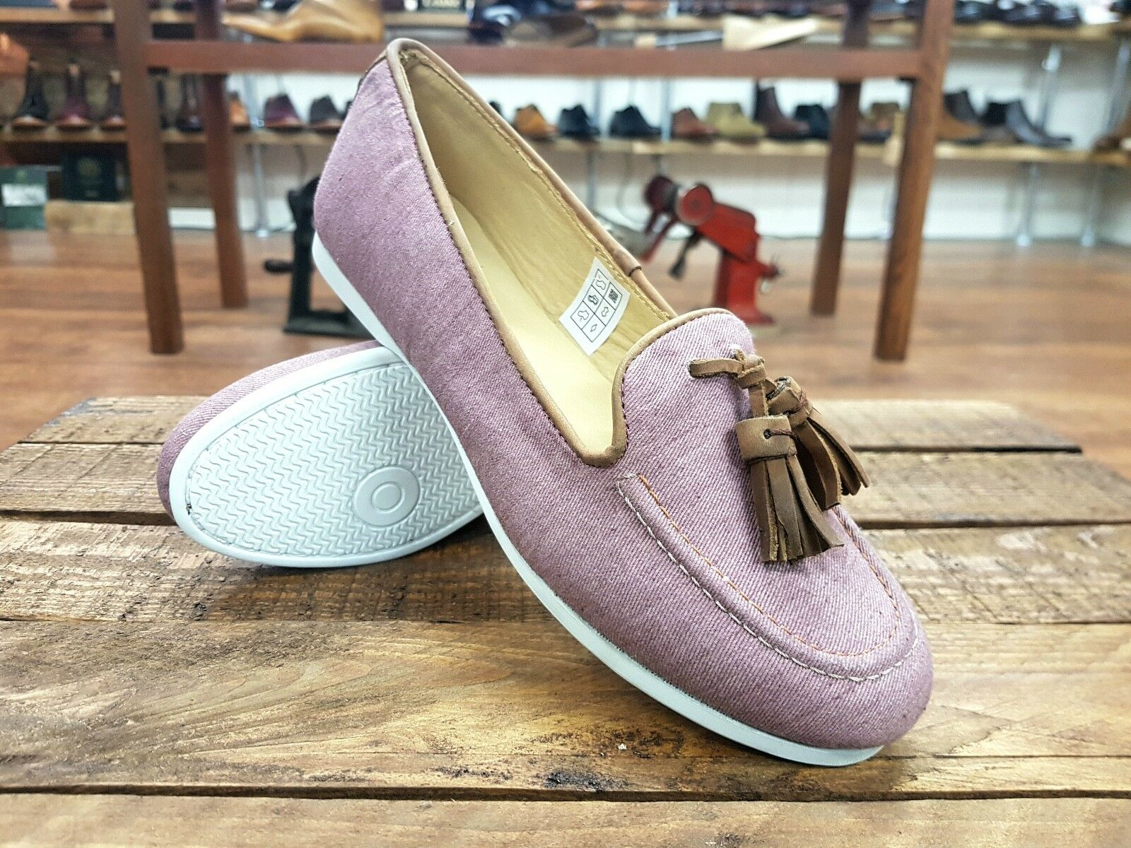 CHATHAM Pink // Eclipse // Damenschuhe Pink CHATHAM Summer Espadrilles Pumps Schuhes // NEW 56a054