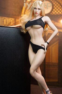 DIY Figure Accessory Black Bikini Set For 1//6th HT PH Female Body Doll Toy