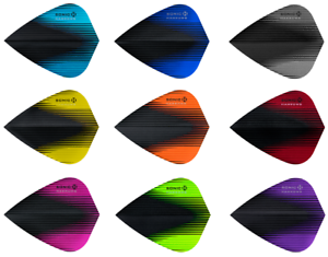 6,9,12,15,30 Harrows Sonic X premium Kite Dart Flights 2,3,4,5,10 Sets Longlife Flights