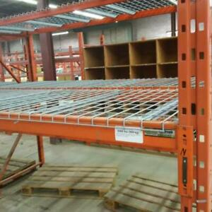 We have a large stock of new wire mesh deck for pallet racking Markham / York Region Toronto (GTA) Preview
