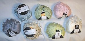 Tahki-Bali-Italian-Bamboo-Yarn-Color-Choice-Loom-Knit-Crochet-Free-Ship-Offer