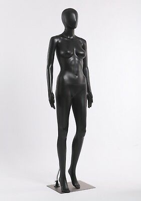 FC+7B Schaufensterpuppe Frau modern schwarz matt abstrakte ohne Gesicht neu
