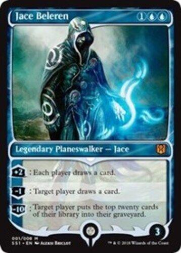 Jace Beleren x1 Magic the Gathering 1x Signature Spellbook: Jace mtg card