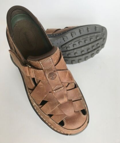 Timberland men's sandals leather excellent size 10