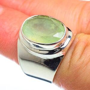Prehnite-925-Sterling-Silver-Ring-Size-6-Ana-Co-Jewelry-R46987F