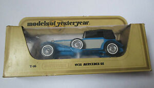Voiture-miniature-Mercedes-SS-1928-matchbox-Y-16-1978-models-of-yesterday