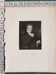 c1850-ANTIQUE-PRINT-BURTON