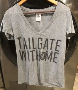 bf6437ec5 Victoria s Secret PINK Oakland Vegas Raiders Grey TAILGATE WITH ME ...