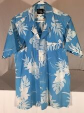 Vintage Opihi Pickers Short Sleeve Hawaiian Shirt Men's L Made In Hawaii, USA