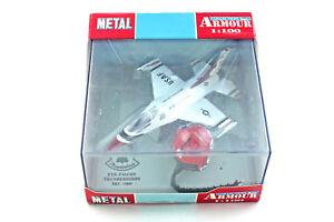 F16-Flacon-Thunderbirds-casque-helmet-METAL-COLLECTION-ARMOUR-1-100-plane