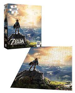"The Legend of Zelda Breath of the Wild 1000 Piece 19""x27"" Puzzle"