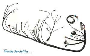 wiring specialties engine tranny harness 2jzgte into bmw e36 pro rh ebay com
