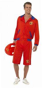 Zu Details Lange SmiffysHerren Rettungsschwimmer KostümJacke Und Baywatch Strand 54jLqA3R