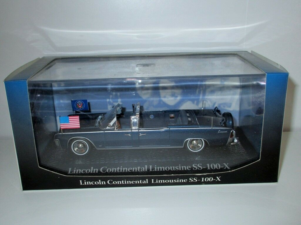 Vehicle New Lincoln Continental Limousine Ss-100x (14x4cm)