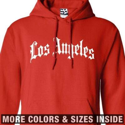Thug Old English Rap Connection Men S-3XL West Side Gothic Sweatshirt Crewneck