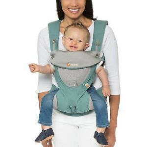 86075310873 Ergobaby 360 All 4 Carry Position Ergo Baby Carrier Cool Air Mesh Icy MINT