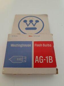 Westinghouse Flash Bulbs AG-1B