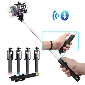 monopod extendable bluetooth wireless selfie stick for iphone samsung htc moto ebay. Black Bedroom Furniture Sets. Home Design Ideas