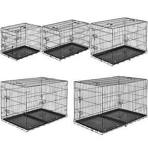 Cage pour chien Box de transport boîte cage parc à chiots