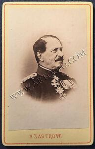 Carte De Visite GENERAL HEINRICH ADOLF VON ZASTROW Infanterie Um
