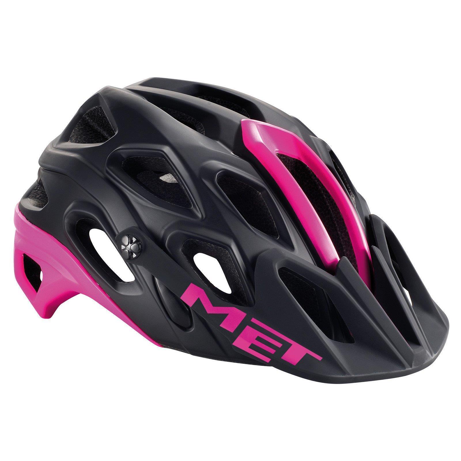 Hydromel Lupo Femmes Bike Casque MTB Vélo Casque Bike Rose Noir Rose VTT girl women c99a13
