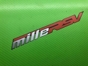 Mille RSV Mille Track bike or road fairing or Wheel Decals Stickers PAIR#212