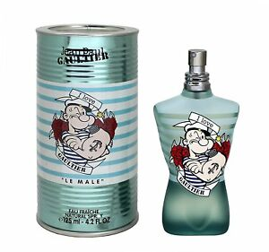 Jean Paul Gaultier Le Male Eau Fraiche Popeye Edt For Men 125ml 4 2fl Oz 7429513566583 Ebay