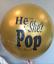 Gender Reveal Balloon Gold
