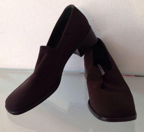 Women's 6 Brown Stretch DONALD J PLINER Heel