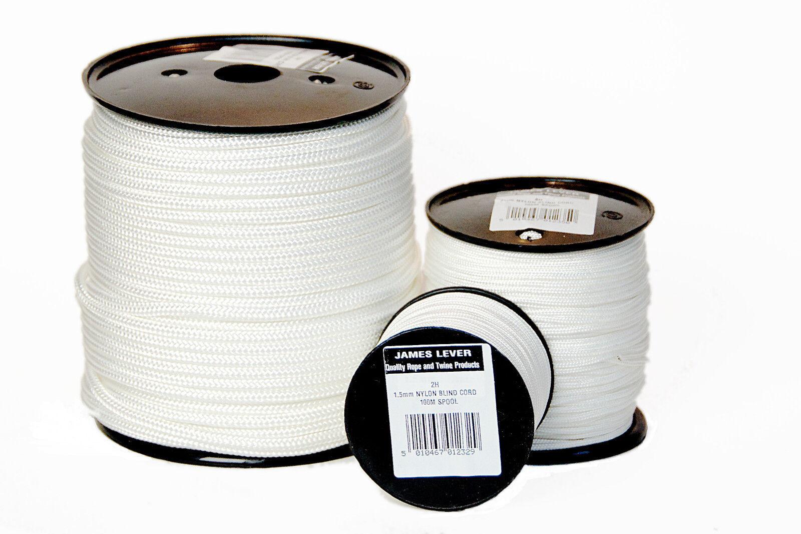 100m - Everlasto Everlasto Everlasto Geflochtenes Nylon Rolloschnur Synthetik Seil 1.5 - 5mm | Deutsche Outlets  67643d