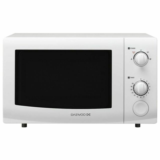 Daewoo Four à Micro-ondes pour Cuisine Micro-ondes KOR6L35 20 L 700 W Blanc